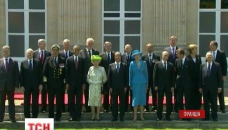 У французькій Нормандії Порошенко та Путін домовились про переговори