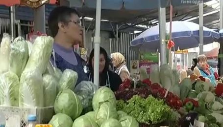 Ціни на тепличну городину нижчі, ніж торік