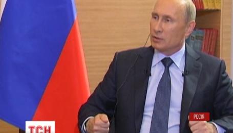 Путин решительно опровергает причастность своей страны к вооруженному противостоянию в Украине