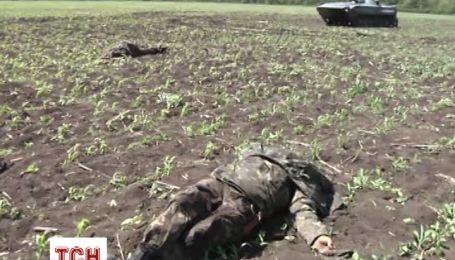 Під Волновахою бойовики розстріляли табір бійців