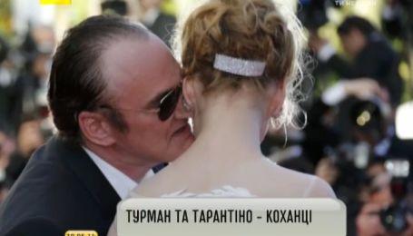 Ума Турман та Квентін Тарантіно стали коханцями