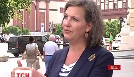 Помічник Державного секретаря США Вікторія Нуланд подалася до Одеси