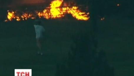 В США лесные пожары невозможно потушить из-за климатических условий
