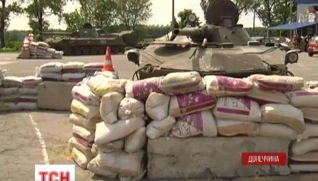 На півночі Луганщини українські військові встановлюють нові блокпости