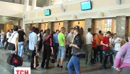 Донецкая железная дорога отменила предварительную продажу билетов