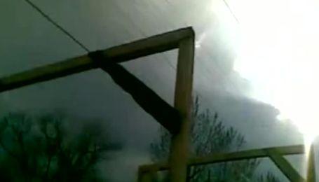 В Луганске сепаратисты построили виселицы