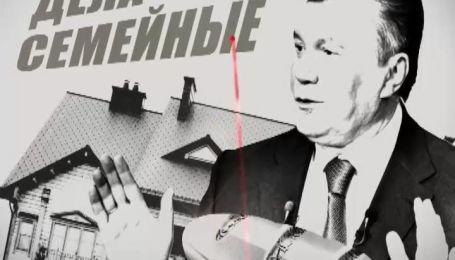 Секретні матеріали: хто і як заробляє гроші у сім'ї Януковича