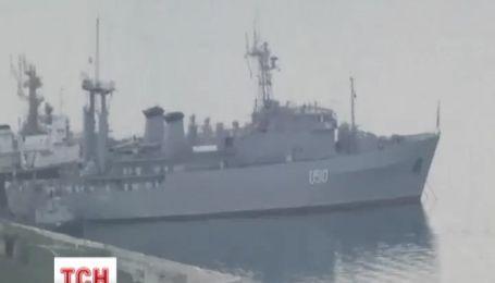 Треть украинских кораблей заблокирована русскими