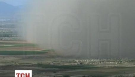 Огромное облако пыли накрыло Аризону