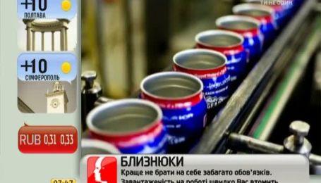 Энергетические напитки приводят к нарушению обмена веществ