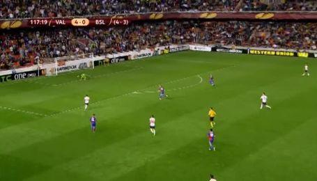 Валенсія - Базель - 5:0. Відео голу Берната