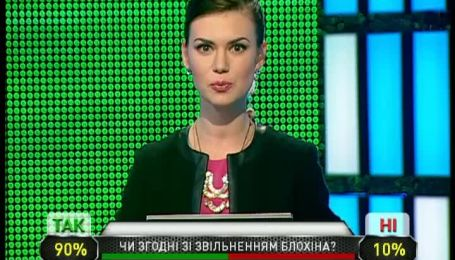 Чи згодні вболівальники Динамо зі звільненням Блохіна