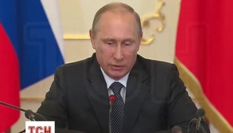 """Путин считает """"более чем партнерским"""" предложение Киеву скидки на газ"""