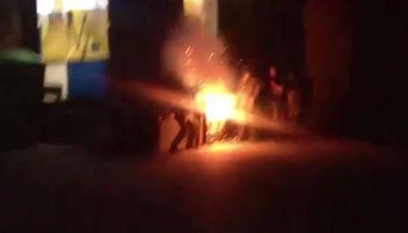 """""""Правый сектор"""" провел ночные учения в центре Киева"""