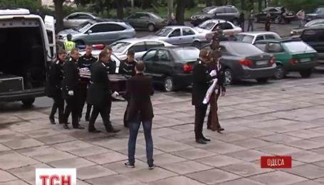 Одесса прощается с жертвами майских беспорядков