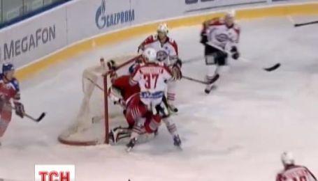 Украинские хоккеисты побили рекорд русских на кубке Гагарина