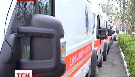 У Кіровограді «швидка» здійняла паніку