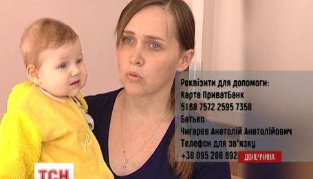 Помогите 7-месячной Марийке увидеть жизнь