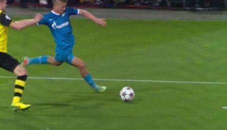 Зенит боруссия дортмунд голы 1 2