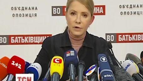 """Тимошенко ініціює наймасштабнішу амністію """"чесного середнього класу"""""""