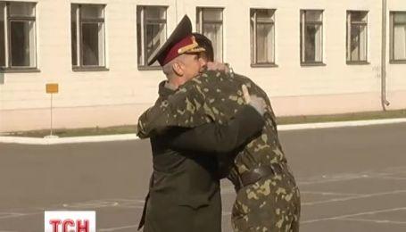 Міністр оборони Михайло Коваль особисто привітав морських піхотинців