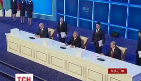 Росія, Білорусь і Казахстан вирішили стерти економічні кордони