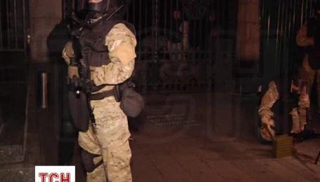Українські військові вивели на вулиці Києва бойову техніку