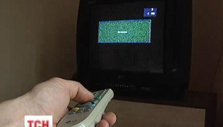 У Слов'янську вимкнули українське телебачення