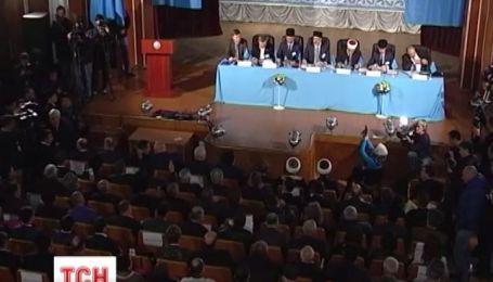 Крымские татары начали создавать собственную автономию