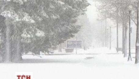 Американские штаты Колорадо и Вайоминг засыпало снегом
