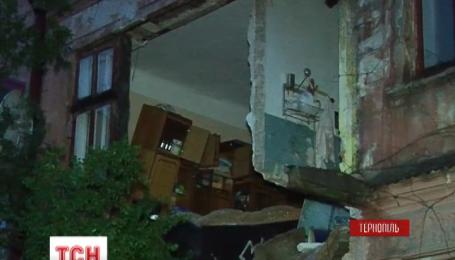В Тернополе обрушился двухэтажный дом