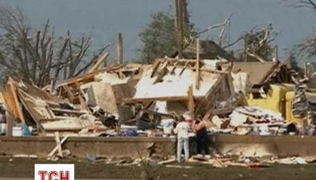 В штате Небраска подсчитывают убытки от двух торнадо