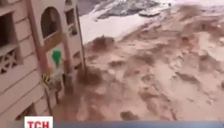 У Єгипті туристів ледь не змило в море