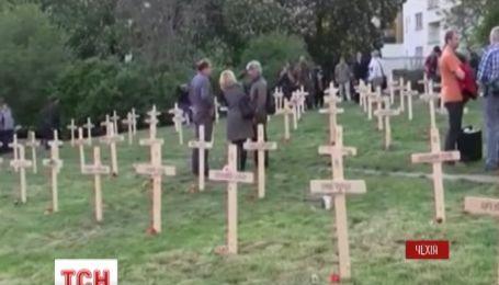 «Небесной сотне» отвели отдельное кладбище в Праге