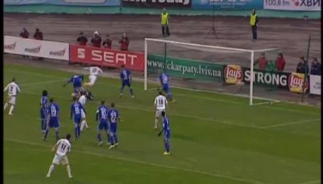 Карпаты - Динамо - 2:2. Видео голов
