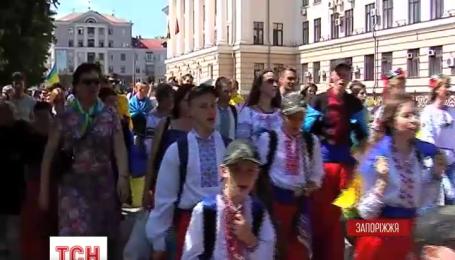 Марш вишиванок прошов у Запоріжжі