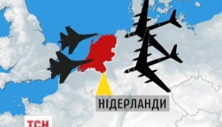 Росія вторглася в повітряний простір Нідерландів