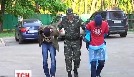 На Дніпропетровщині здали ще двох «платних» диверсантів