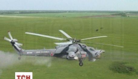 Российские военные продолжают обучение вдоль украинской границы