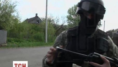 В Славянске продолжается штурм блокпостов