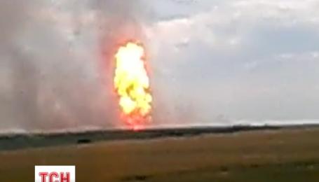 """У Лохвицькому районі вибухнула дільниця газопроводу """"Уренгой-Помари-Ужгород"""""""