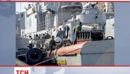 В Крыму украинские корабли поднимают российские флаги