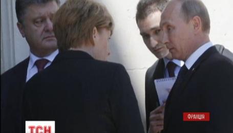 З Порошенком воліють розмовляти європейські політики, з Путіним – королівські особи