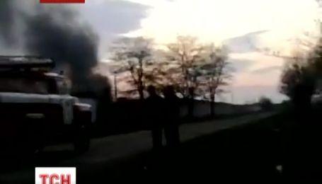 У Кривому Розі вигоріли три танки, заповнені пальним – джерела