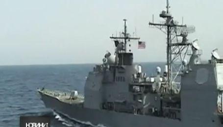 Крейсер ВМФ США войдет в Черное море на День Победы