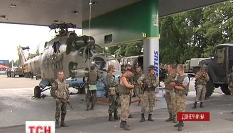 Українські силовики зміцнюють свої позиції на Сході