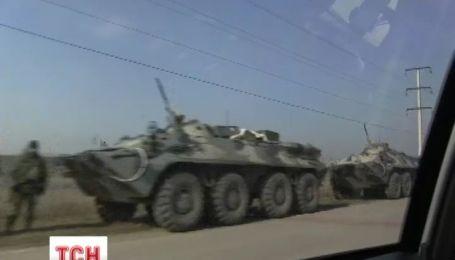 Россия перебрасывает свою технику в Крым