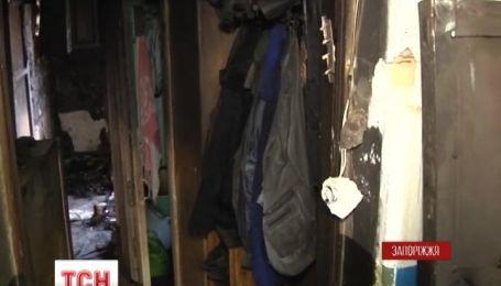 Двоє дорослих і дитина загинули в пожежі у Запоріжжі