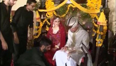Британская пара устроили себе 66-ю свадьбу в Пакистане