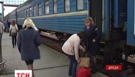Виїхати з Донецька заважають перебої з транспортом і дефіцит квитків